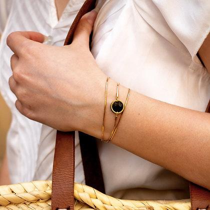 Collection Black: Bracelet triple