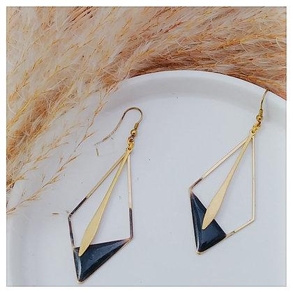 Collection Black: Boucles d'oreilles