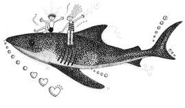 Shark with a Heart ©