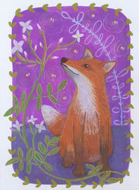 Fox and jasmine ©