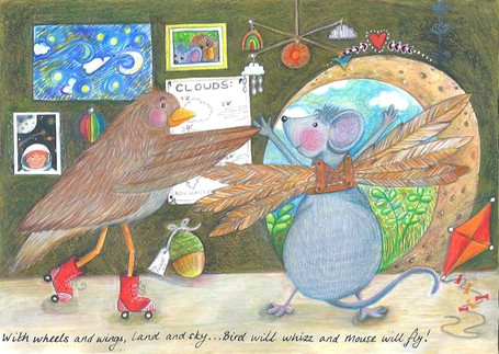Bird and Mouse ©