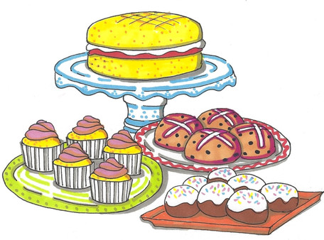 Tea time cakes ©