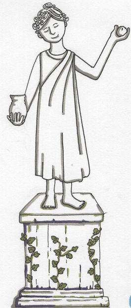 Grecian statue ©