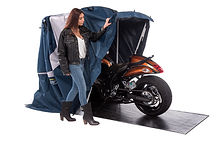 Speedway Motorsports Standard Sport Shelter Motorcycle Cover Portable