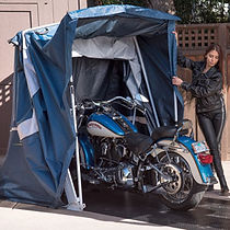 Speedway Motorsports Touring Shelter Motorcycle Cover Portable Snowmobile Golf Cart ATV UTV Bikes