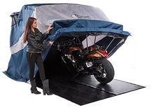 middle_size.jpg Motorcycle Shelter Cover Golf Cart Snowmobile UTV ATV Two 2 Bikes