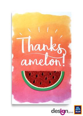 Watercolor Melon