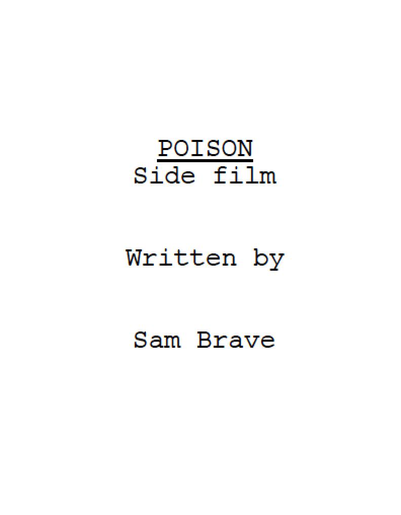 Poision TV Series Pilot