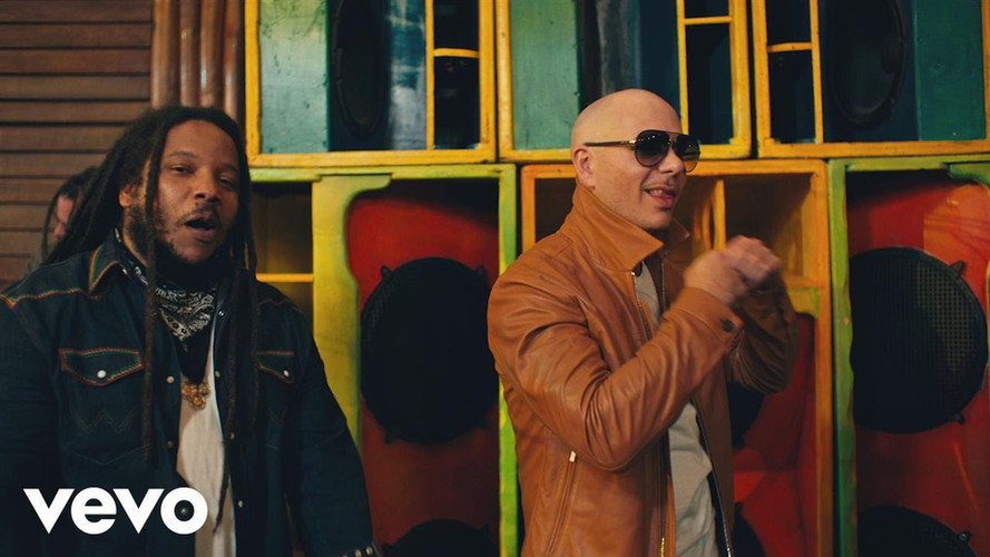 Pitbull Ft. Stephen Marley Music Video - Gil Green