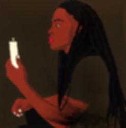 Patrick, Acrylic on Canvas, 60 x 60 i