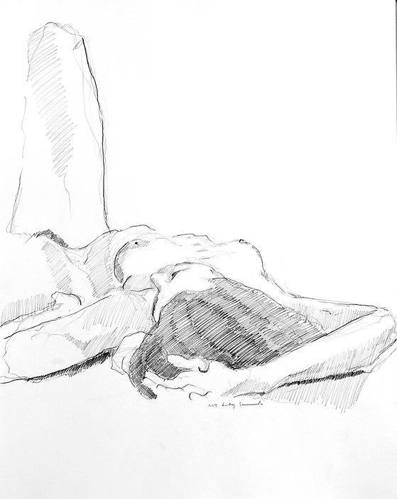 1.-Audrey,-Graphite-on-Paper,-42-x-60-cm