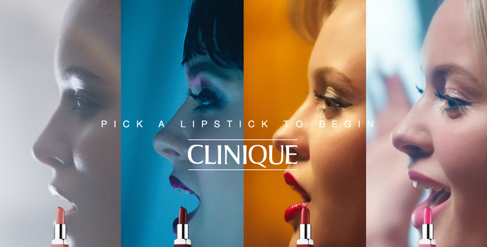 Clinique Cosmetics Print/Commercial Beauty Campaign