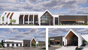 Meridian Library at Orchard Park Breaks Ground