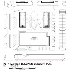 Library _ Market Buildings _ Site Plan C