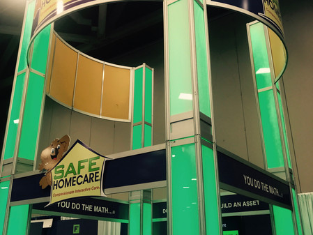 SAFE HOMECARE 'Towers' Above the Competition at Franchise Expo South in Dallas, TX
