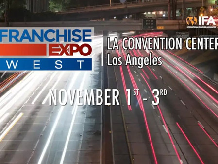 Franchise Expo West - Los Angeles - Booth 721