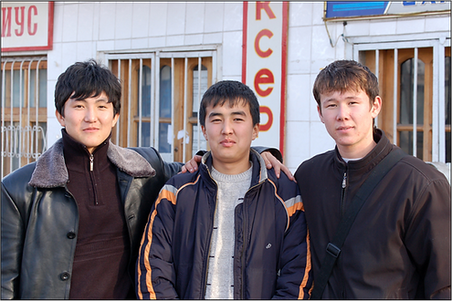 Three young men__Intercede__May-June 202