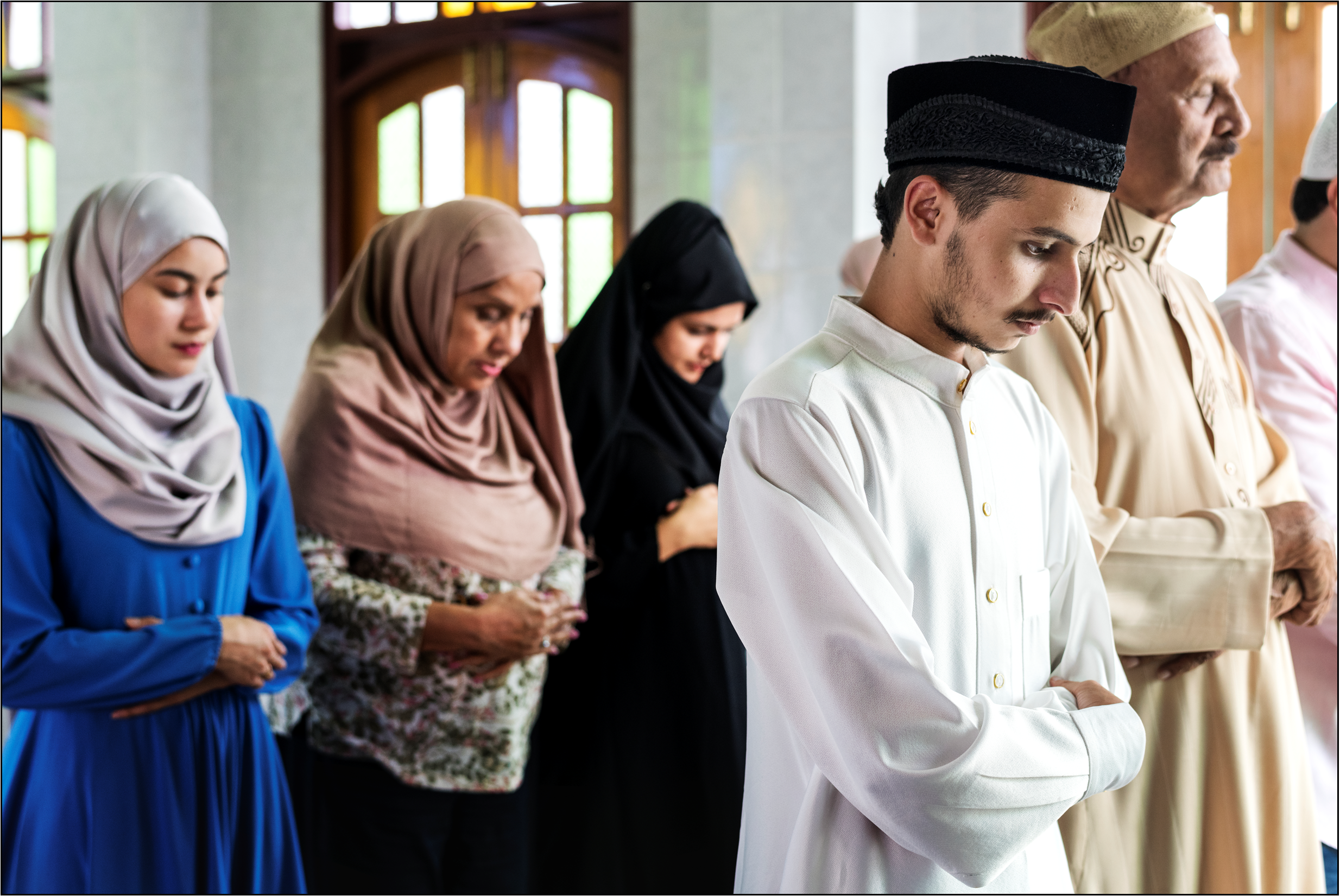People in Mosque__Intercede March-April