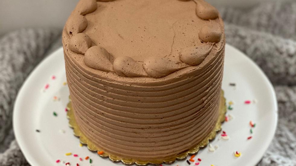 """6"""" Chocolate Birthday Cake"""