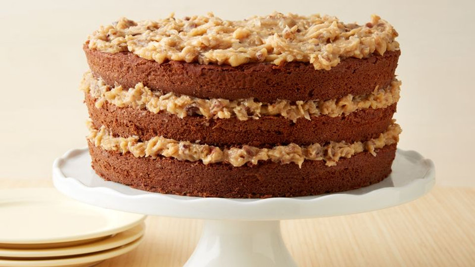 "8"" German Chocolate Cake"
