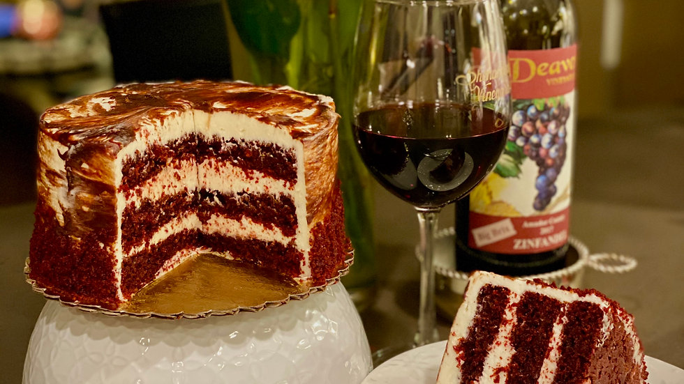 """6"""" Red Velvet Cake"""