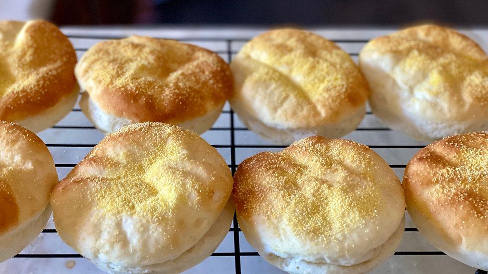 4pk. Hamburger/English muffin buns
