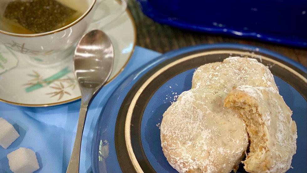 Flourless Tea Cookies