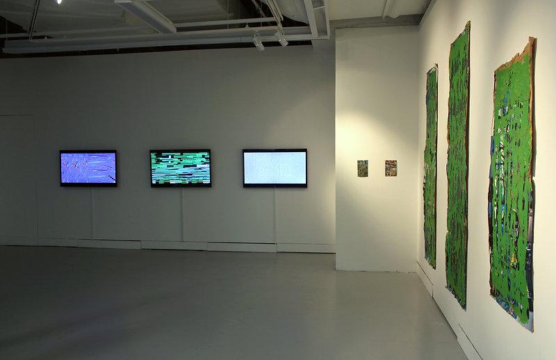 Shifting Between Surfaces Solo Exhibitio