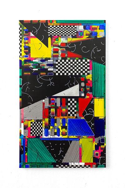 MODULAR BOUTIQUE, 2020, Acrylic, vinyl a