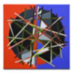 INTERNET CAFE, 2019, Oil on canvas, 38x3