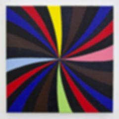 Spectrum, 2017, 40x40x2.5 cm, Oil on canvas
