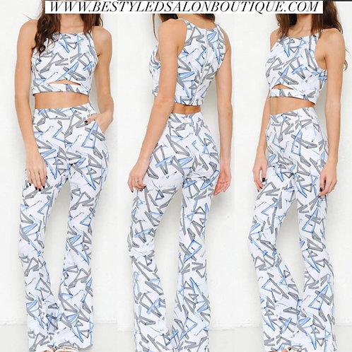 Abstract 2 piece set