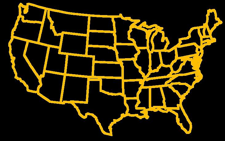 USA map - Homefix Express
