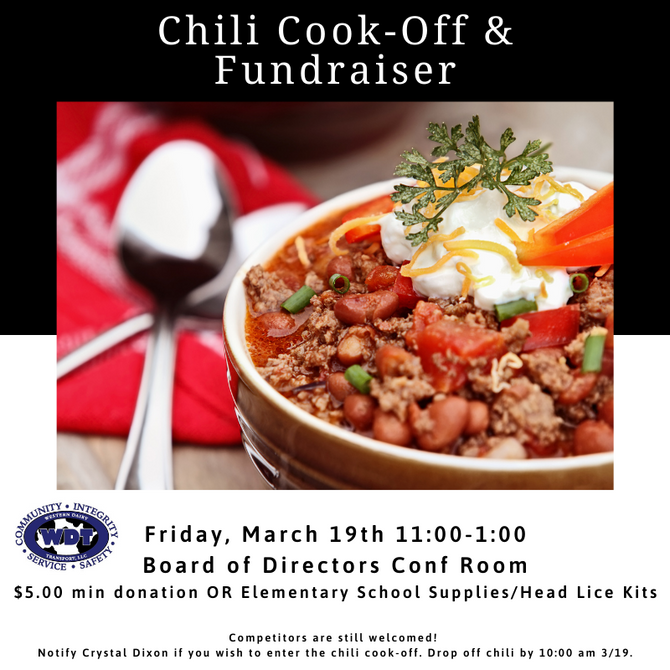 Cabool Chili Cook-Off & Fundraiser