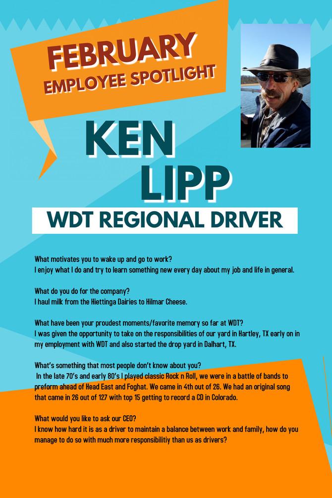 February Employee Spotlight - Ken Lipp