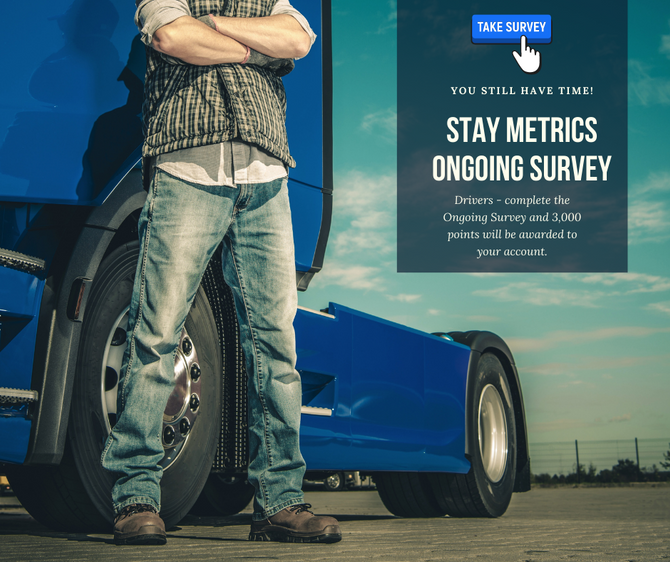 Stay Metrics Ongoing Survey