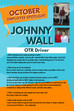 October Employee Spotlight, Johnny Wall