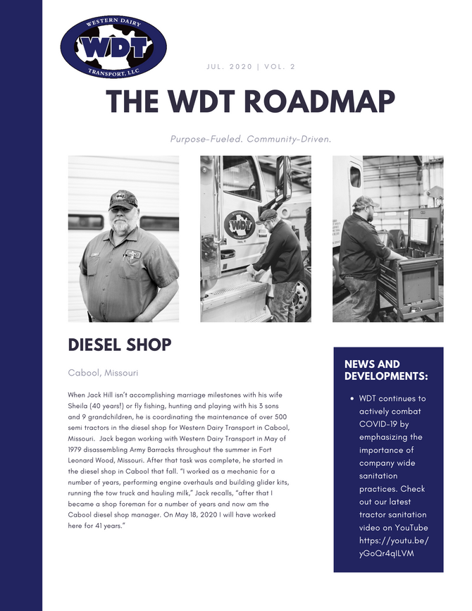 It Has Arrived. Check Out The WDT Roadmap.