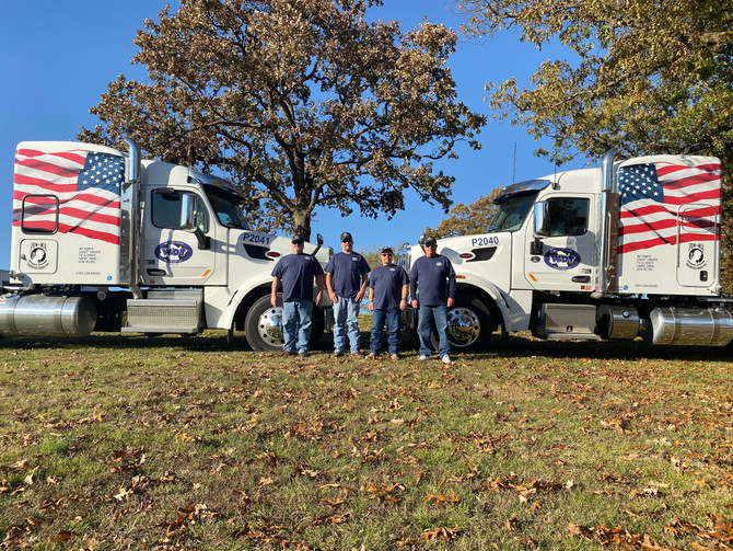 WDT Transports 'The Wall That Heals'