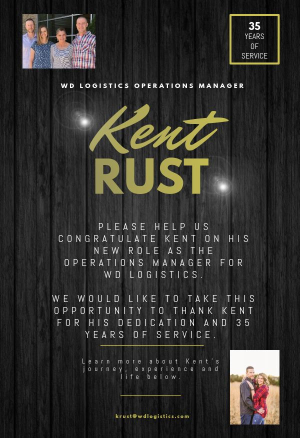 Kent Rust - WDL Operations Manager