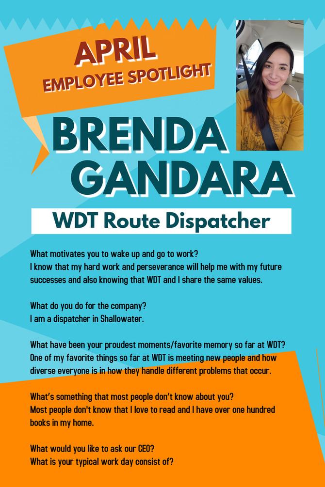 April Employee Spotlight - Brenda Gandara