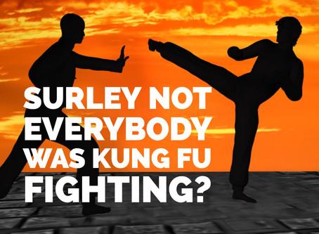 Surely, not Everybody was Kung Fu fighting och andra snärtiga rubriker