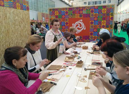 МК от «Отдела ремесел» на Международном фестивале «МИР Сибири»