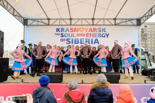 Коллективы ЦКИ на «Сибирских забавах»