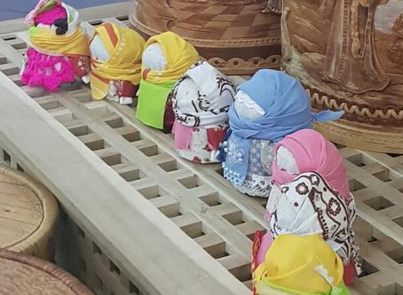 "МК по созданию текстильной куклы ""Крупеничка"""