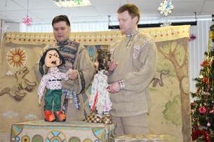 Театр кукол «Веселые чемоданы» в пансионате «Солнечный»