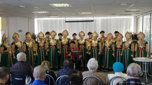 «Золотые россыпи» выступили в пансионате «Солнечный»