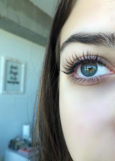 natural top & bottom lashes