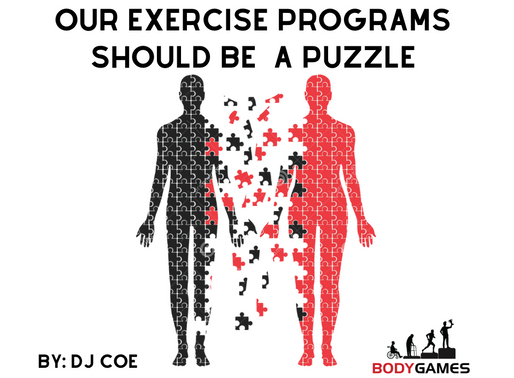 Our Exercise Programs Should Be A Puzzle
