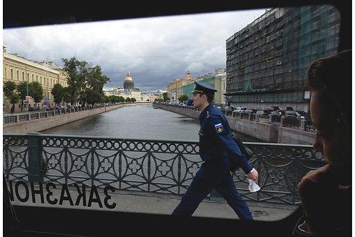 """Photo encadrée """"Vie quotidienne à Saint-Petersbourg"""""""